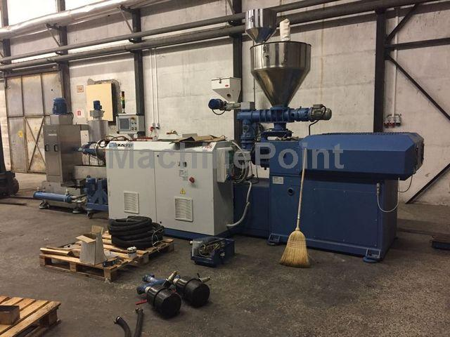 Devam et Twin-screw extruder for PE/PP compounds BAUSANO MD 75/30/Plus