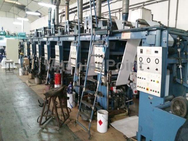 Go to Rotogravure printing press GIAVE ZOOMM-600