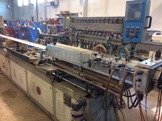 Devam et Complete downstream lines for profiles TPV MECCANICA  AMUT C 1200//TRAOS//S350