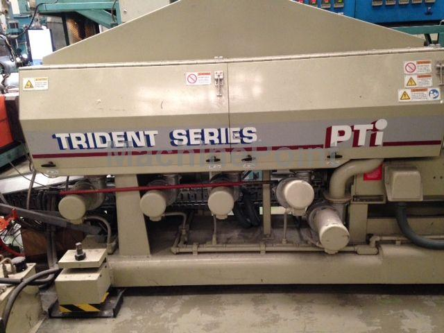 "Idź do Single-screw extruder for PE/PP PTI Trident series 3.5"" 32:1"