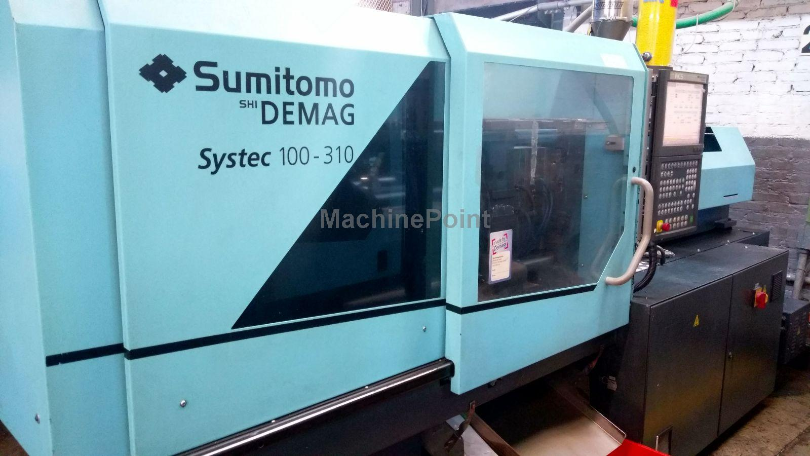Go to Injection moulding machine for food and beverages caps SUMITOMO DEMAG SYSTEC 100/420-310