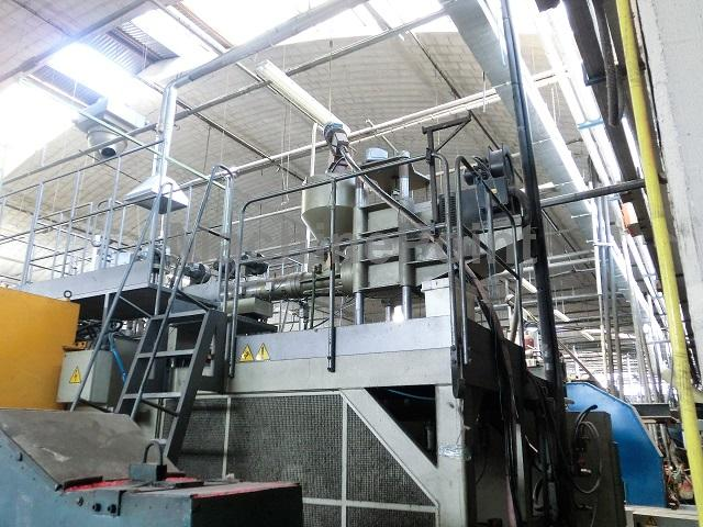 Devam et Extrusion Blow Moulding machines from 10 L MAGIC MG15 ND