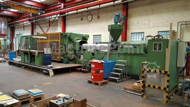 Go to 4. Injection molding machine from 1000 T KRAUSS MAFFEI KM 1800-10150