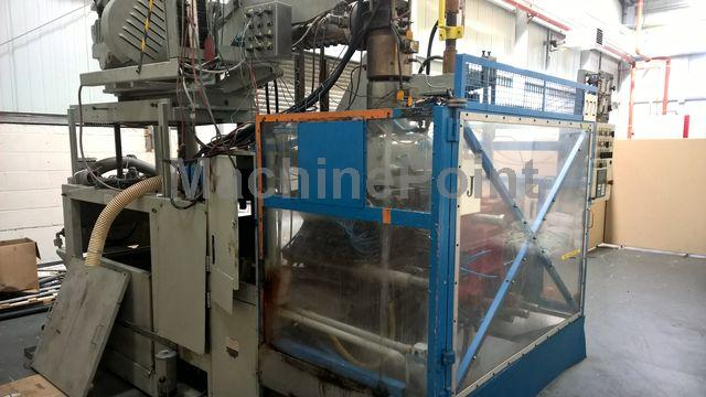 Devam et Extrusion Blow Moulding machines up to 10L BEKUM BAE10