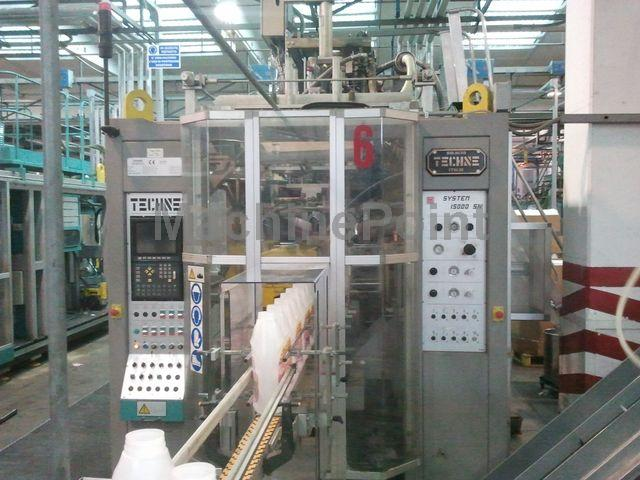 去 Extrusion Blow Moulding machines from 10 L TECHNE System 15000 S COEX 3