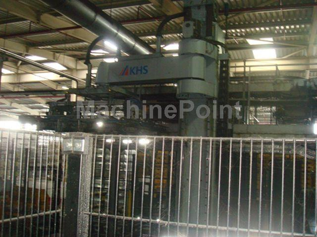 Go to Complete glass filling lines KHS Innofill DMG 144/18