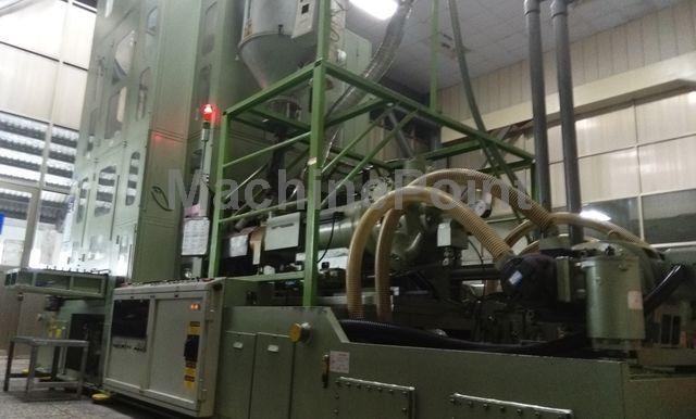 Devam et Injection stretch blow moulding machines for PET bottles AOKI SBIII-1000H-60