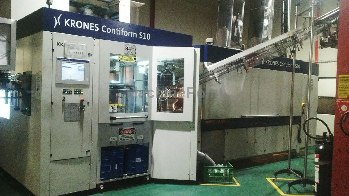 Go to Stretch blow moulding machines KRONES AG Contiform S10