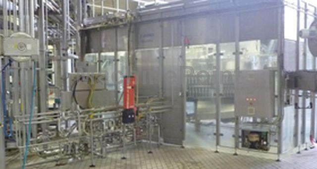 去 Complete filling lines for carbonated drinks KRONES AG Volumetric VO-DM-PET 144-094/SV-24VO
