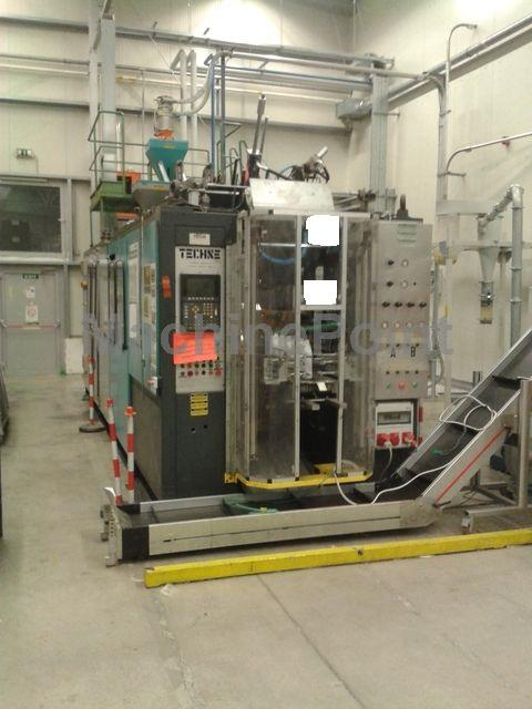 Devam et Extrusion Blow Moulding machines from 10 L TECHNE System 15000 SN COEX 3