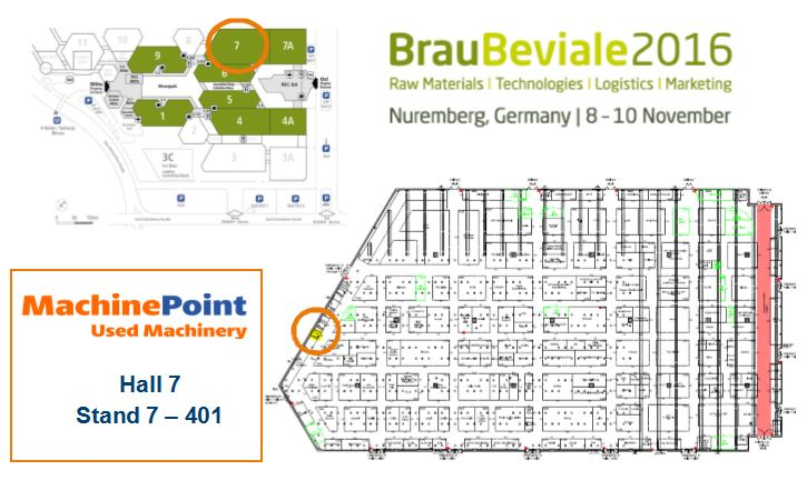 Visit MachinePoint at Brau Beviale