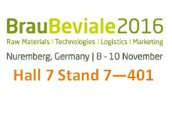 Meet MachinePoint team at the BrauBeviale 2016. Lets talk about used machinery!