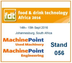 MachinePoint used machines for Food beverages And plastic in Africa tradeshow