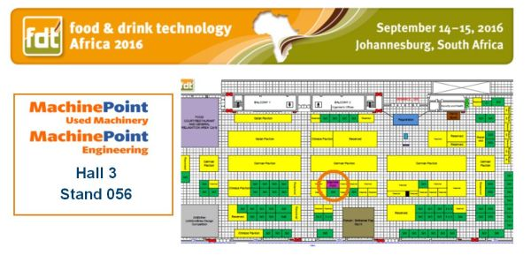 MachinePoint in Africa food and beverages tradeshow