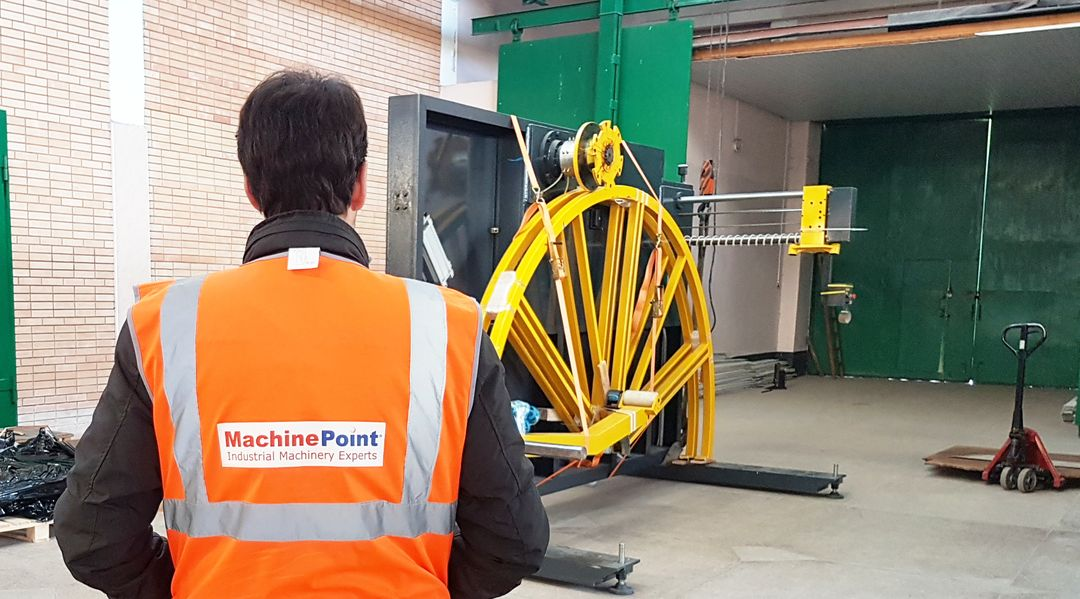 MachinePoint sells and buys used machinery from factory to factory