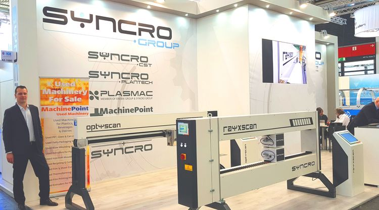 MachinePoint à ICE 2019 Salon Munich Allemagne