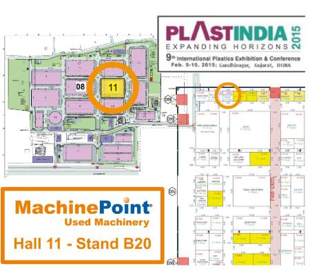 used industrial equipment in India MachinePoint Plastindia