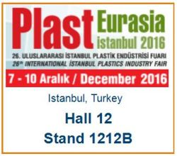 Meet MachinePoint team at the PlastEurasia 2016. Lets talk about used machinery!