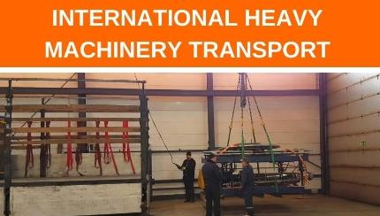 The importance of hiring a professional transportation and dismantling company for your industrial machinery purchases