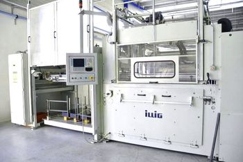 Illig thermoforming machines