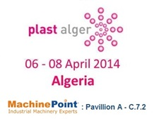 Pavillon A, C.7.2. Meet MachinePoint team at the Plast Alger 2014. Lets talk about used machinery!