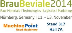 Meet MachinePoint team at the Brau Beviale 2014. Lets talk about used machinery!