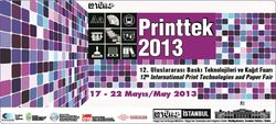 Meet MachinePoint team the the Printtek 2013 Tüyap Fair. Lets talk about used machinery!