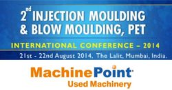 Concierta una cita con el equipo de MachinePoint en la 2nd Injection Moulding and Blow Moulding Conference