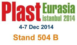 Meet MachinePoint team at the PLASTEURASIA 2014. Lets talk about used machinery!
