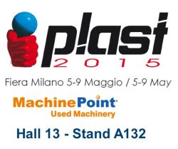 Meet MachinePoint team at the PLAST 2015!